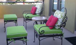 Patio Furniture Chair Cushions Remarkable Wrought Iron Outdoor Furniture All Home Decorations