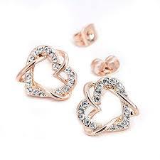 gold earrings in shape gold earrings product categories nadine jardin