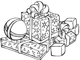 coloring pictures of christmas presents christmas present coloring pages print presents coloring page many