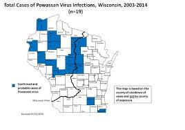 Lyme Disease Map Powassan Virus Deer Tick Virus Wisconsin Ticks And Tick Borne
