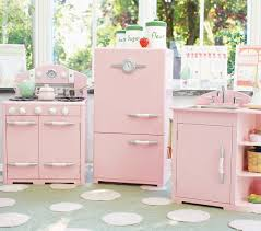pink retro kitchen collection retro kitchen collection pottery barn
