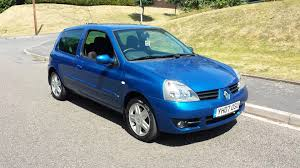 renault megane sport 2006 used renault clio campus sport hatchback cars for sale motors co uk