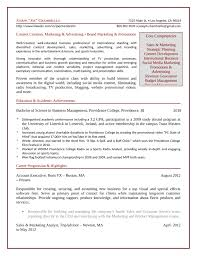academic marketing associate resume template