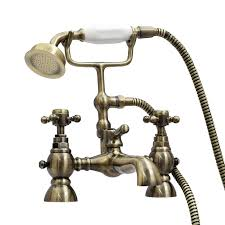 enki bath filler mixer tap shower antique bronze traditional