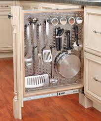 kitchen utensil storage ideas fantastic idea to save space by a pull out hideaway drawer