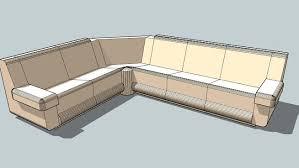 canap sketchup canapé d angle 3d warehouse