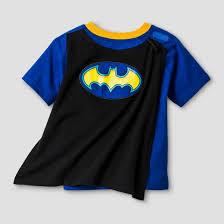 toddler boys batman sleeve cape t shirt blue black target