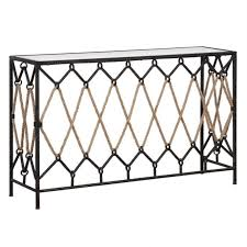 console table balcony console tables wrought iron table legs