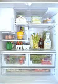 an organized refrigerator zdesign at home