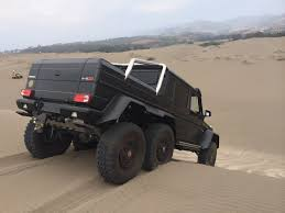 mercedes benz 6x6 brabus g63 amg 6x6 surfs sand dunes in chile u2013 photo gallery