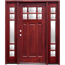 Solid Wood Interior Doors Home Depot by Stained Wood Doors Front Doors The Home Depot