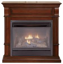 Indoor Gas Fireplace Ventless by Duluth Forge Dual Fuel Ventless Gas Fireplace 26 000btu T Stat