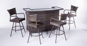 patio furniture bar set extremely creative idea attractive