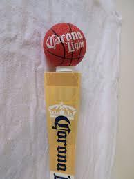 amstel light mini keg rare large corona light basketball 14 draft beer keg tap handle