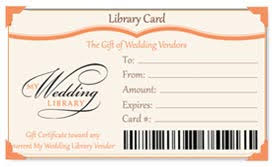 gift card vendors give the gift of wedding vendors the library card reno tahoe