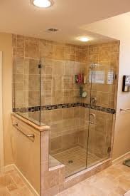 Bathroom Shower With Seat Shower Seat Height Bathroom Traditional With None