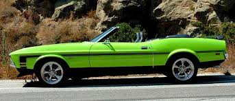 Black And Lime Green Mustang Bright Lime Green 1971 Ford Mustang Convertible Mustangattitude