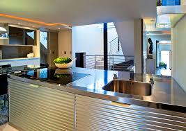 kitchen island with sink and dishwasher modern minimalist kitchen