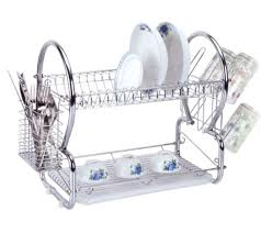 Dish Drainer Stainless Steel Dish Rack Image U2014 Jen U0026 Joes Design How To