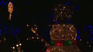 Commercial Christmas Decorations Los Angeles by Christmas Lights Los Angeles Usa Hd Stock Video 800 923 047