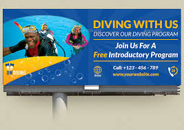 diving billboard template vol2 by owpictures graphicriver