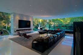 decorating a living room with fireplace and tv walls interiors outdoor living room decorating with black leather sofa and fireplace with tv