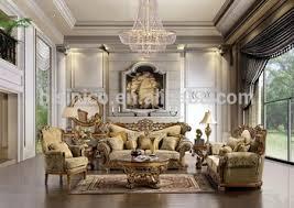 New Arrival Luxury European Victorian Wooden Living Room Sofa - Victorian living room set
