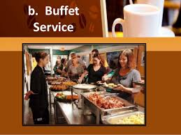Pictures Of Buffet Tables by Types Of Table Service