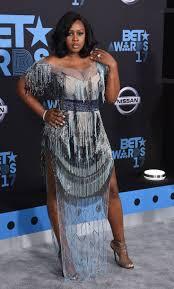 Laverne Cox In Bao Tranchi by Love U0026 Hip Hop New York U0027 Stars Remy Ma And Cardi B Go Head To