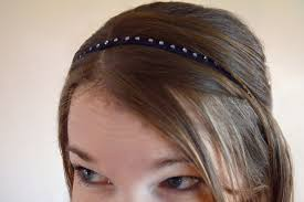 elastic headbands diy rhinestone headbands