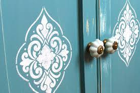 kitchen stencils designs 20 diy cabinet door makeovers with furniture stencils stencil