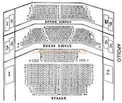 National Theatre Floor Plan The Apollo Theatre Shaftesbury Avenue London