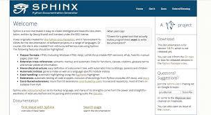 html themes sphinx publishing tool options for developer docs document rest apis