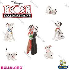 disney 101 dalmatians figures figurine toy cake topper bullyland