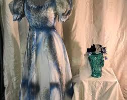 Dead Bride Costume Corpse Bride Dress Etsy