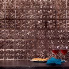 Fasade  In X  In Traditional  PVC Decorative Backsplash - Decorative backsplash