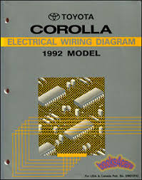 shop manual service repair corolla electrical wiring diagram