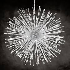 Light Up Stars For The Ceiling by 1 Chrome And Crystal 32 Led Ceiling Pendant