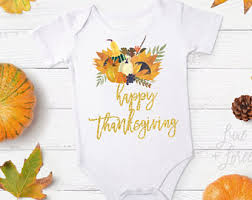 infant thanksgiving etsy