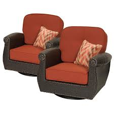 Wicker Lounge Chair Reclining Outdoor Lounge Chairs Patio Chairs The Home Depot