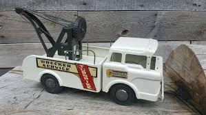 vintage 1960 u0027s marx powerhouse turnpike wrecker service tow truck