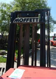 1998 moffett m8000w fork truck item i4680 sold july 17
