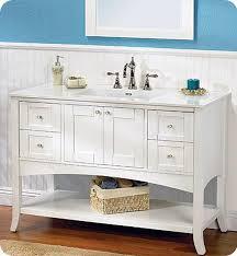 fairmont designs bathroom vanities fairmont designs 185 vh48 shaker 49 open shelf modern bathroom