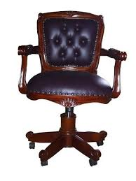 fauteuils de bureaux fauteuil de bureau anglais en acajou bristol meuble de style
