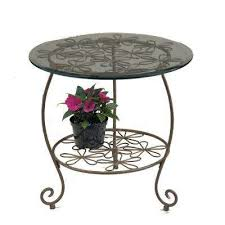Metal Patio Side Table Metal Patio Furniture Outdoor Side Tables Patio Tables