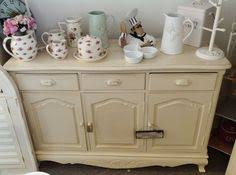 Refinishing Wood Furniture Shabby Chic by Hand Painted Pine Writing Desk Bureau Shabby Chic Bureau