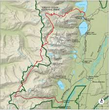 Cascade Mountains Map Best Grand Teton National Park Hike Trail Map National Geographic