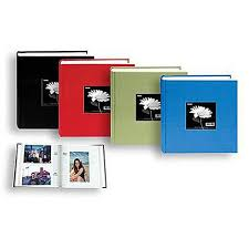 photo album for 5x7 photos pioneer 5x7 cloth frame photo album 200 photos black albums