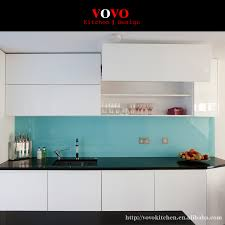 high gloss white uv painting kitchen cabinet with upper cabinets