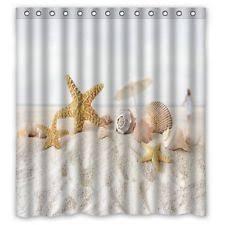 Shower Curtain Beach Theme Beach Island U0026 Ocean Shower Curtains Ebay